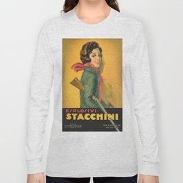 The Explosive Girl - 1929 Long Sleeve T-shirt