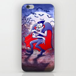 Dracula is Desperately Hungry iPhone Skin