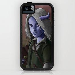 Kallista the Tiefling Warlock iPhone Case