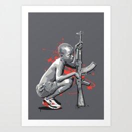 STICK UP KID Art Print