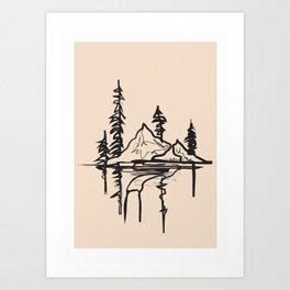 Abstract Landscpe II Art Print