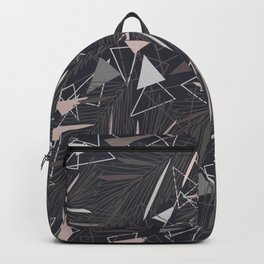 Dark Edgy Abstract Bliss Backpack