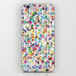 Cuben Colour Craze iPhone Skin