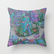 WinterWorld Throw Pillow