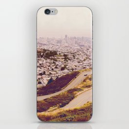 Misty Frisco (San Francisco sous la brume) iPhone Skin