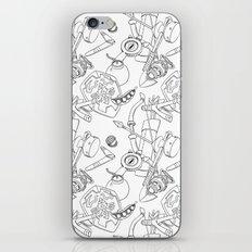 Ocarina Patterns iPhone & iPod Skin