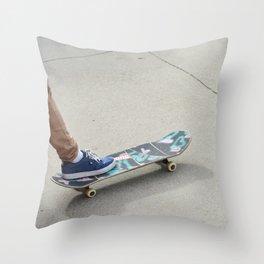 (Skate) Throw Pillow