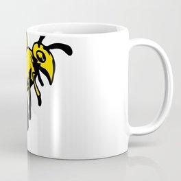 Yellowjacket Wasp Drawing Coffee Mug