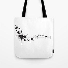 Splatter in D Minor Tote Bag