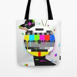 Molten Colour Bars Tote Bag