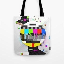 Molten Colour Bars Tote Bag