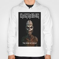 iron maiden Hoodies featuring Iron Maiden-Book Of Souls by darma1982