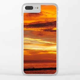 Another Beautiful Costa Rica Sunset Clear iPhone Case
