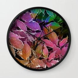 Behind Leaves #society6 #decor #buyart Wall Clock