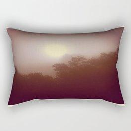 Foggy Autumn Morning Rectangular Pillow