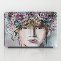 headdress iPad Cases featuring Headdress  by Talitha Etters