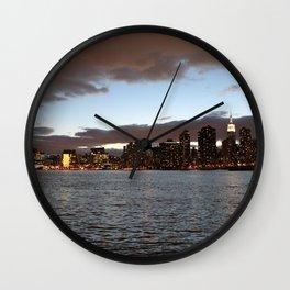 By Night: New York City (Pt. 17) Wall Clock