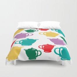 Favoriteware Teapots Duvet Cover