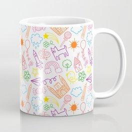Kiddie Scribble Doodles Coffee Mug