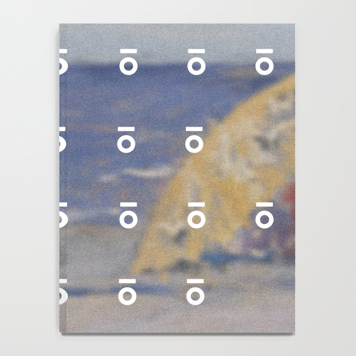 Keyhole Beach Painting Notebook