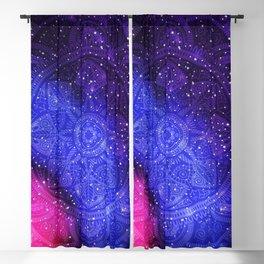 Galaxy Mandala 003 Blackout Curtain