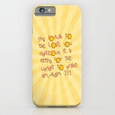 Sing Joyfully! iPhone 6s Slim Case