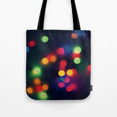 Lights of the Season Tote Bag