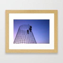 Night watchers Framed Art Print