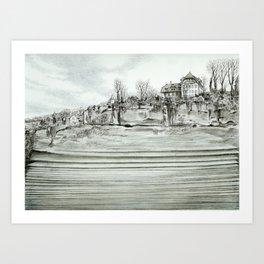 City layers Art Print