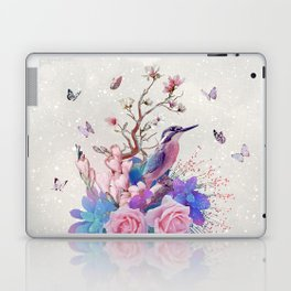 FLORAL ALCEDO ATTHIS Laptop & iPad Skin