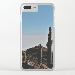 Salt Flats, Bolivia Clear iPhone Case