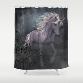 When the end is near begin the dreams Shower Curtain