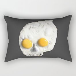 Egg Skull Rectangular Pillow