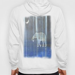 Moonlight with elephant Hoody