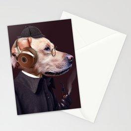 Dog Sherlock Holmes Stationery Cards