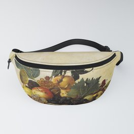 "Michelangelo Merisi da Caravaggio ""Basket of Fruit"" Fanny Pack"