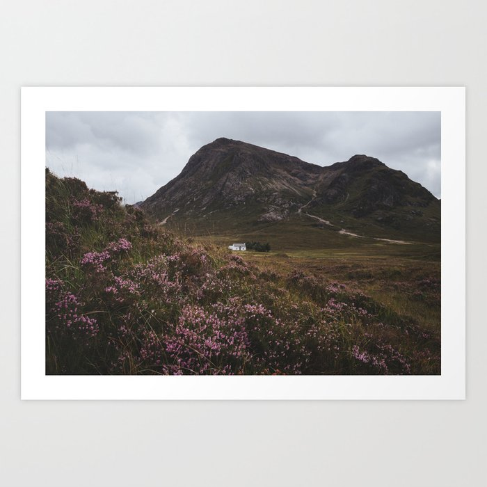 The moorland house - Landscape and Nature Photography Kunstdrucke