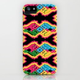 Electric Tribe iPhone Case