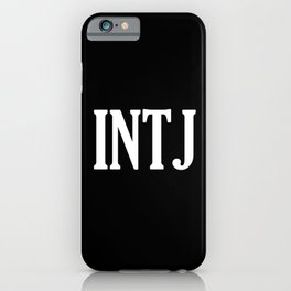 INTJ iPhone Case