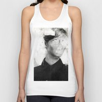 number Tank Tops featuring Faceless | number 01 by FAMOUS WHEN DEAD