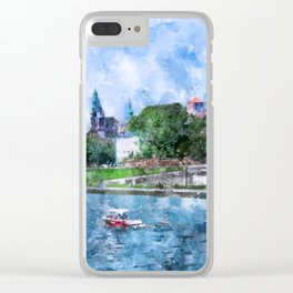 Cracow art 19 #cracow #krakow #city Clear iPhone Case