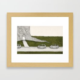 Elf House no. 3 Framed Art Print