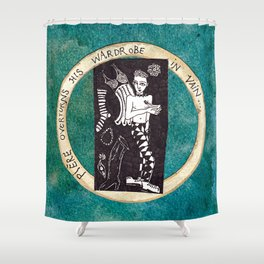 Ontological Box - Pierre Shower Curtain