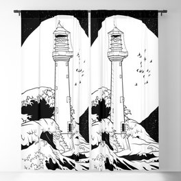Bell Rock Lighthouse Blackout Curtain