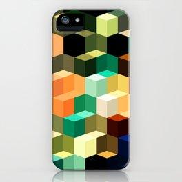 Loca Cubes iPhone Case