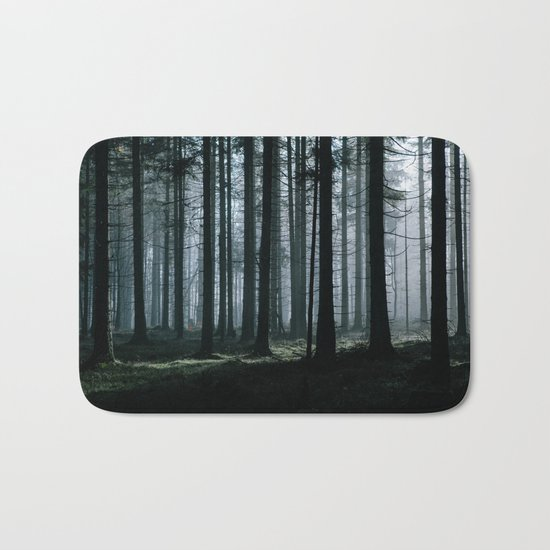 Mystery forest Bath Mat