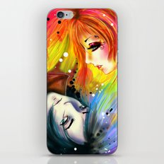 RAINBOW AND NIGHT iPhone Skin