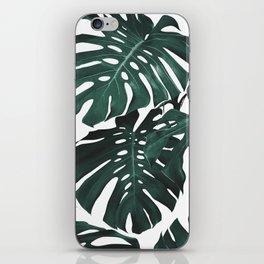 Monstera iPhone Skin