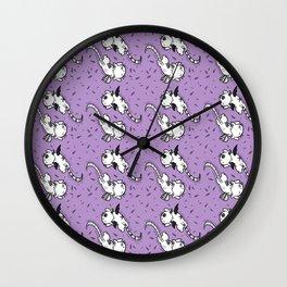 Angel/Demon Cats Wall Clock