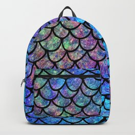 Colorful Mermaid Scales Backpack